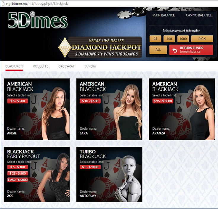 5dimes online casino review