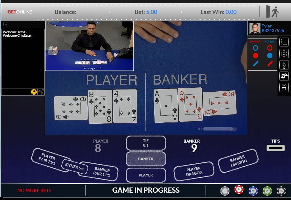Bet Online Live Casino