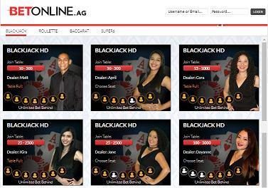 bet online casino usa