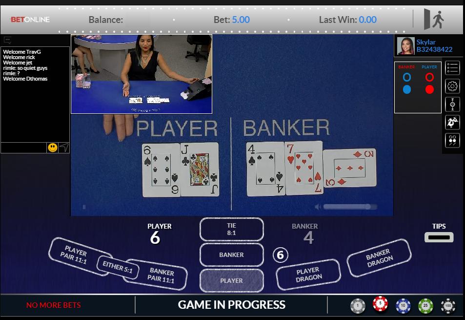 BetOnline Live Casino Review - USA Live Dealer Casino