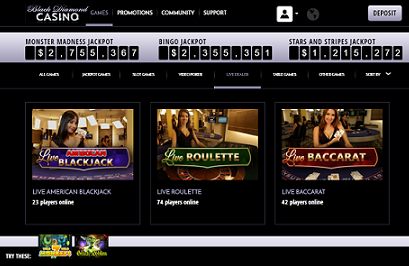 Black Diamond Casino Instant Play