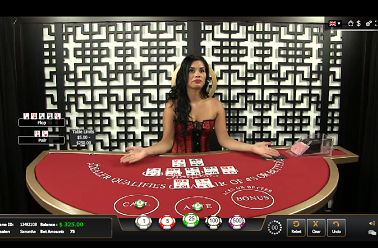 Live Dealer Casino Holdem Table
